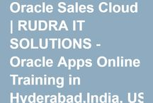 Sales Cloud CRM Online Training / Rudra IT Solutions is one of the Promote leading IT Services and Oracle Sales Cloud-CRM Online Training  solutions along with IT Online training conservatory, with latest Industry offering technology in Hyderabad,India, USA, UK, Australia, New Zealand, UAE, Saudi Arabia,Pakistan, Singapore, Kuwait. _http://www.rudraitsolutions.com/fusion-applications/oracle-sales-cloud-.php
