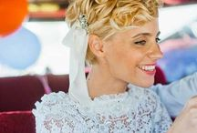 Short hairstyles for Fanfare Events