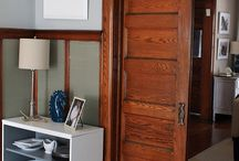 never ever paint your wood trim / by Katie Doucette