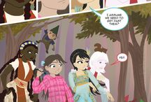 The Forever Girls - Comic / A team of timeless heroes as reimagined by Monica Bruenjes and Scott Peterson