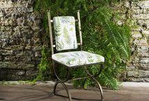 Leaf Print Chair