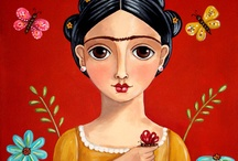 Pintura de garotas