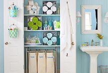 Bathroom organization / by Hanna Sigge