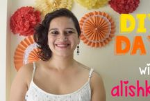 **DIY DAY with ALISHKA** / A great place for fun easy and creative DIY Projects.... From Home decor to party supplies to stationary and fashion.... subscribe to DIY Day with Alishka!!