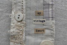 Projects - vintage,shabby, textile