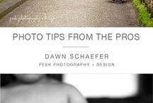 Photography Tips / Tips for both The taking and editing of photography