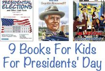President's Day / President's day, history, USA, America  / by Alison Shaffer