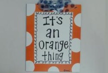 Solid Orange / All in all the time!  / by Jenny Frye