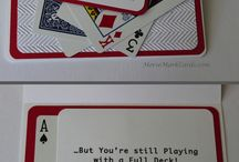 Cards for Men / Cards created for men for all occasions.  Custom cards can be made too!