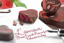 Three French Love Poems / Michel RICHART translated three French poems by Charles Baudelaire, Paul Eluard, and Paul Verlaine into... chocolate. Celebrate love with him, and taste rose, vanilla from Tahiti, hints of citrus, mint, raspberry, blackcurrant pepper.. / by Richart Chocolates