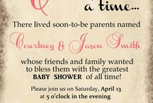 Kamis shower / Kami's girly baby shower!! / by Brittany Fletcher