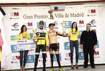 VUELTA CICLISTA INTERNACIONAL MADRID / Podium vuelta Ciclista Internacional en Madrid por Agy Events