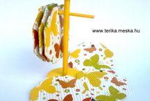 Poháralátét (coasters) / home-made coasters: http://www.terika.meska.hu