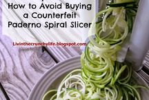 Spiralizer recipes / by Jayne LaRock