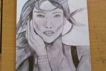 Kresby / Moje kresby.
