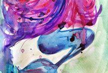 Watercolor Art / by Talyaa Liera
