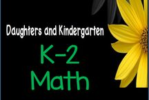 K-2 Math Resources / Kindergarten, 1st, and 2nd grade math activities, task cards, scoot, games, worksheets, centers, and assessments. Aligned with Common Core standards.