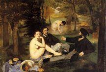 Edouard Manet / 1832-1883 The precursor of the art of the Impressionists, who always sought recognition of the official institution of Salon. Ο πρόδρομος της τέχνης των Εμπρεσιονιστών, που πάντοτε επιζητούσε την αναγνώριση του επίσημου θεσμού του Salon.