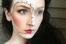 maquiagem artística / Halloween, teatro, festas... etc