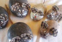 Mäuse stein