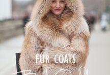 FUR COATS / by Monica Sors