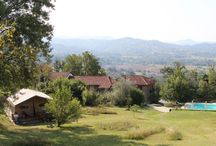 Camping & glamping Italy / Lovely small campings in Italy & the best glamping addresses.