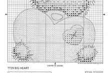 Teddy Bear Haft krzyżykowy