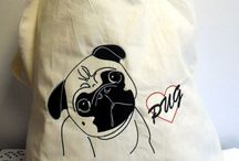 Pug Crafts / Hugly Pugly Doo Dah, that's what we do with our printing machines and then send out the joy of pug worldwide via our etsy store