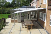 Patio Awnings / Patio Awnings are a great alternative to Pergola's. When in use they provide multi - purpose outdoor spaces and when not, retract back into a cassette so that they do not look intrusive. Therefore avoiding that permanent look that Pergola's create.