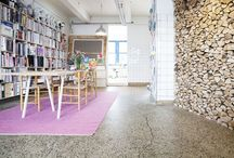 our studio / Summer will be back is situated in a lovely, large studio in the old meatpacking district of Copenhagen.
