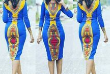 African Women, fashion and beauty / lots and lots of prints