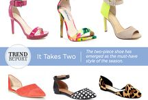 Trend We Love: Two-Piece Shoes / The two-piece shoe has emerged as the must-have style of the season.