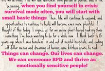 BPD & Emotionally Sensitive Encouragement