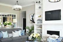 Living room lighting Kim Miller