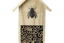 Insect Hotels by Gardens2you / Our wonderful range of Insect Hotels for your garden.