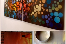 Customização de quadros ou enfeites para decoração