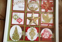 Sampler cards and frames