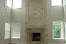 Two Story Greatroom Fireplace | Worcester PA / Two Story Greatroom Fireplace | Worcester PA