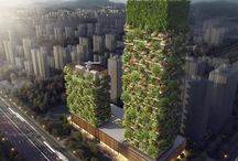 In 2018 First Vertical Forest In Asia Covered In Over 3,000 Plants