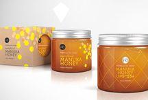Manuka honey packaging reference