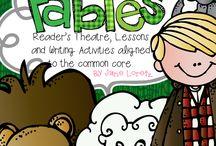 ELA - fables, folktales, fairytales