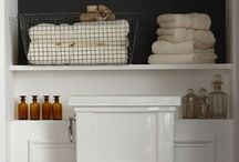 Small bathroom ideas / by Annmarie Strivelli Amato