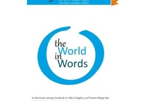 Take a look at the book! / The World in Words Amazon links