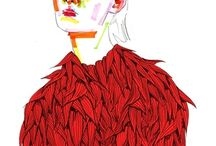 Fashion Illustration / Quirky and beautiful examples of fashion illustration