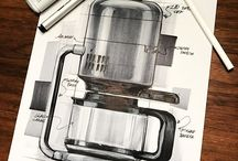 industrial design: drawings