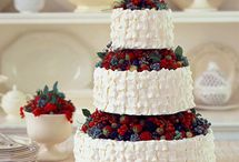 A Berry Chocolate Wedding / Think lush and richly colored. This can be as luxurious or as light-hearted as you wish-- use lighter colors and greenery for an afternoon event, and deeper colors and candlelight for a nighttime one. Brown is a good neutral, and any naturally-occurring berry color will look delightful.