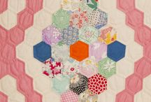 Hexagon Quilts & more / by Robin T