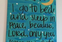 Bible verses for bedtime