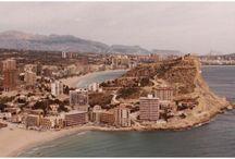 Una mirada al pasado / Fotos antiguas del pueblo y de la playa de Finestrat