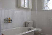 white bathroom / by Lucy Fisette